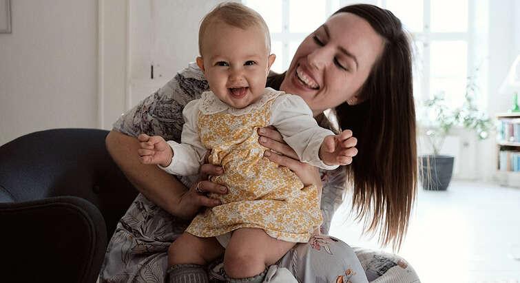 Mor og baby. Foto: Christoffer Regild